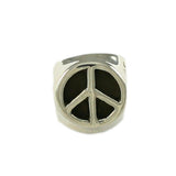 3-Sided Peace Sign Bead - Lone Palm Jewelry