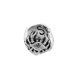 13378 - ST MICHAELS Engraved Bead with Crab
