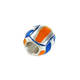 Orange & Blue Volleyball - Lone Palm Jewelry