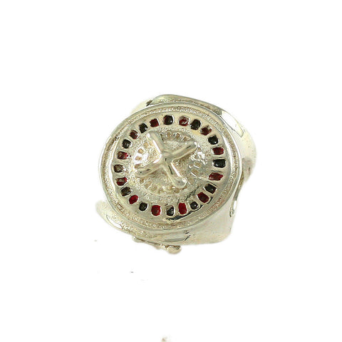 Roulette Wheel Bead - Lone Palm Jewelry