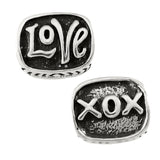 LOVE XOX Bead - Lone Palm Jewelry