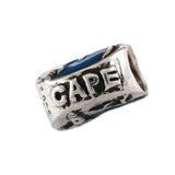 Enameled Cape Cod Lighthouse & Map Bead - Lone Palm Jewelry