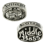 LONZ WINERY Middle Bass Bead - Lone Palm Jewelry