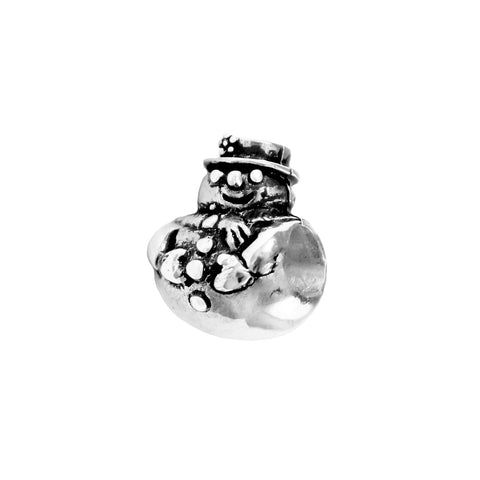 Snowman Bead - Lone Palm Jewelry