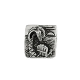 JOST VAN DYKE Beach Scene Bead - Lone Palm Jewelry