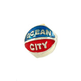 OCEAN CITY Enameled Beach Ball - Lone Palm Jewelry