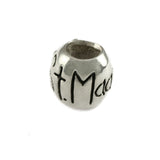 ST MAARTEN Engraved Bead with Starfish - Lone Palm Jewelry