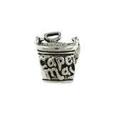 CAPE MAY Sand Pail Bead - Lone Palm Jewelry