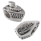 ALASKA Cruise Ship Bead - Lone Palm Jewelry
