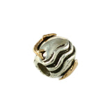 14kt Dolphin & Sterling Waves Bead - Lone Palm Jewelry