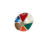 CAPE COD Enameled Beach Ball Bead - Lone Palm Jewelry