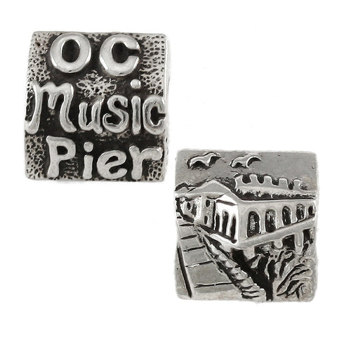 OCEAN CITY Music Pier Bead - Lone Palm Jewelry