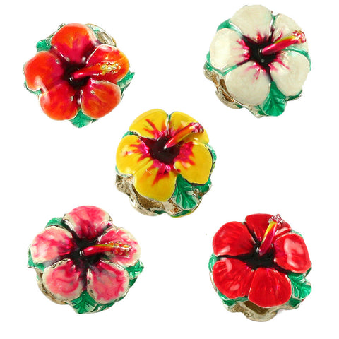 13871e Hibiscus Flower Available In 5 Different Colors Lone Palm
