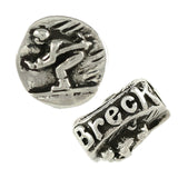 BRECK Snow Skiing Bead - Lone Palm Jewelry