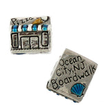 OCEAN CITY Boardwalk Bead Enameled - Lone Palm Jewelry
