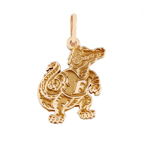 "14560 - 1"" Albert Gator Pendant - Satin Finish - Lone Palm Jewelry"