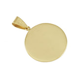 "1"" Plain Round Medical ID - Lone Palm Jewelry"