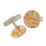 "14772cl - 3/4"" Pell Logo UF Cuff Links"