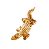 "11493 - 1 3/4"" Alligator Pendant with Hidden Bail - Lone Palm Jewelry"