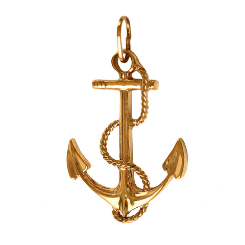 "15106 - 1 9/16"" Fouled Anchor Charm"
