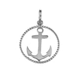 "15171 - 3/4"" Anchor in Frame - Lone Palm Jewelry"