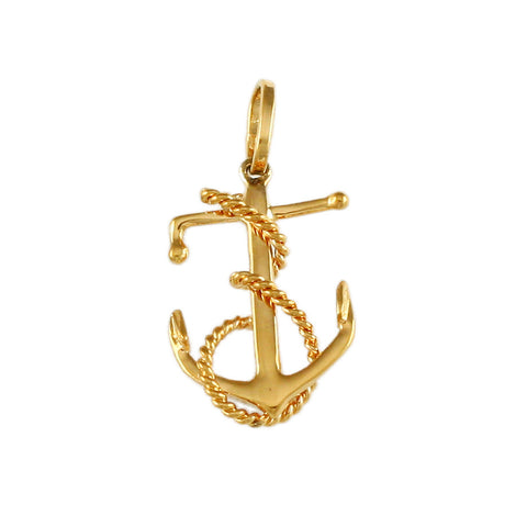 "7/8"" Fouled Anchor - Lone Palm Jewelry"