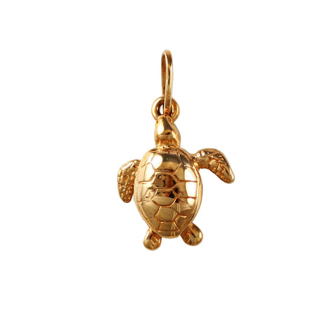 "15318 - 7/8"" Loggerhead Turtle - Lone Palm Jewelry"