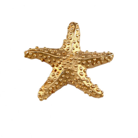 "1"" Starfish Pendant with Hidden Bail - Lone Palm Jewelry"