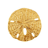 "15587 - 1 1/4"" Omega Slide Sand Dollar Pendant - Lone Palm Jewelry"