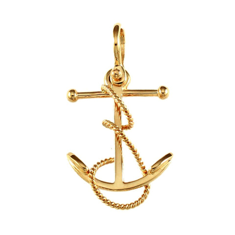 "1 1/4"" Fouled Anchor - Lone Palm Jewelry"