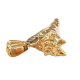 "1 1/8"" Conch Shell with Diamonds - Lone Palm Jewelry"