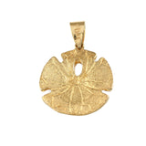 "1 1/16"" Sand Dollar Pendant - Lone Palm Jewelry"