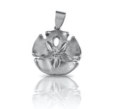 "15685 - 1 1/16"" Sand Dollar Pendant - Lone Palm Jewelry"