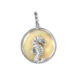 Seahorse Sea Opal Pendant (Needs Pricing) - Lone Palm Jewelry
