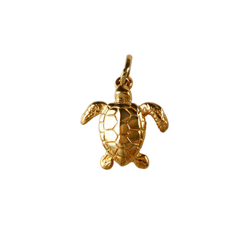 "15944 - 3/4"" Kemp's Ridley Turtle - Lone Palm Jewelry"