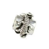 Alligator Wrap Cylinder Bead - Lone Palm Jewelry