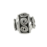 Swirl Spacer Bead - Lone Palm Jewelry