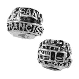 SAN FRANCISCO Trolley Bead - Lone Palm Jewelry
