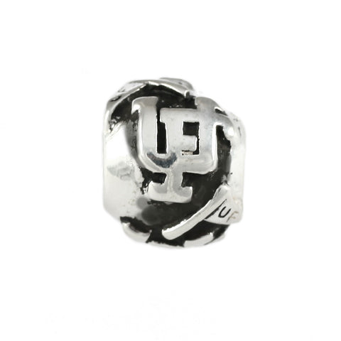 University of Florida Logo & Pennant Flag Bead - Lone Palm Jewelry