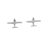 17350 - Cirrus Aircraft Stud Earrings