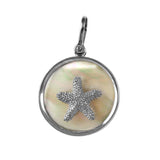 Starfish Mother-of-Pearl Pendant (Needs Pricing) - Lone Palm Jewelry