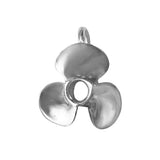 "18402 - 3/4"" 3 Bladed Boat Propeller Pendant with Hidden Bail"