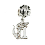 #1 Albert Gator Charm & Alligator Bead Bail - Lone Palm Jewelry