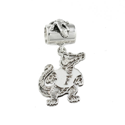 Fighting Albert Large Charm and Alligator Bail - Lone Palm Jewelry