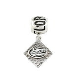 Official Gator Head Charm & FLORIDA Bail Bead - Lone Palm Jewelry