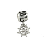 FLORIDA Bead & Ship Wheel Dangle - Lone Palm Jewelry