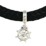 Pipeline Ship's Wheel Dangle - Lone Palm Jewelry