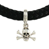 Pipeline Pirate Jolly Roger Dangle - Lone Palm Jewelry