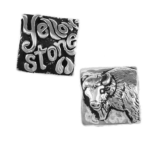 YELLOWSTONE Buffalo Bead - Lone Palm Jewelry