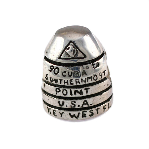Southernmost Point Buoy Key West Bead - Lone Palm Jewelry